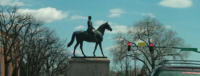 General William Jackson Palmer Statue is one of Matt : понравившиеся места.