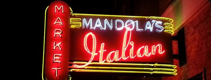 Mandola's Italian Market is one of Posti che sono piaciuti a Dustin.
