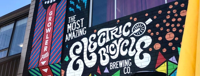 Electric Bicycle Brewing is one of Vancouver.