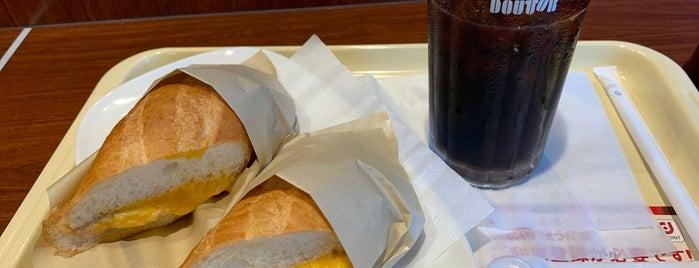 Doutor Coffee Shop is one of Tempat yang Disukai まるめん@下級底辺SOCIO.