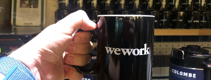WeWork NoMad is one of Lugares guardados de JRA.