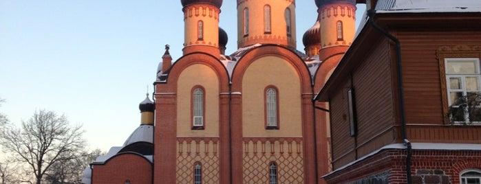 Пюхтицкий монастырь is one of Posti che sono piaciuti a Stanislav.