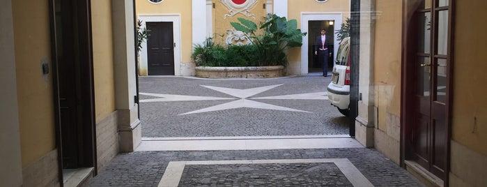 Sovrano Militare Ordine Ospedaliero Di San Giovanni Di Gerusalemme Di Rode E Di Malta is one of Dmitry'in Beğendiği Mekanlar.