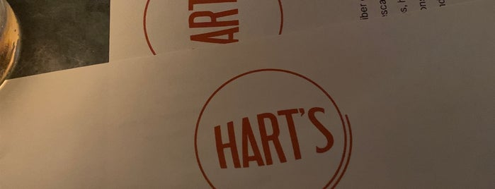 Hart's is one of BK.