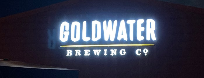 Goldwater Brewing Co. is one of Tempat yang Disukai Jefe.