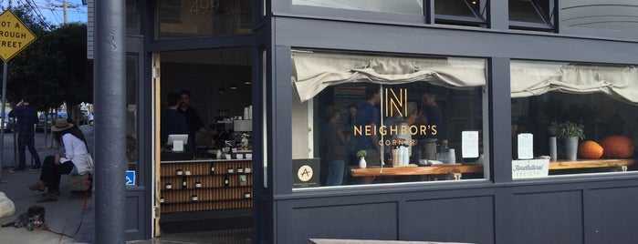Neighbor's Corner is one of The San Franciscans: Cafés.