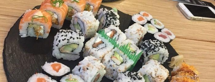 Sushi Nomi is one of Locais curtidos por Priscila.