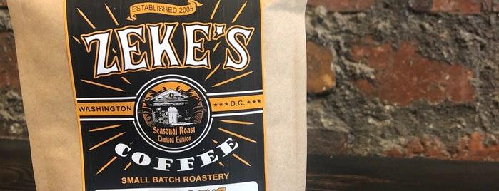Zeke's Coffee is one of Lugares favoritos de Brooke.