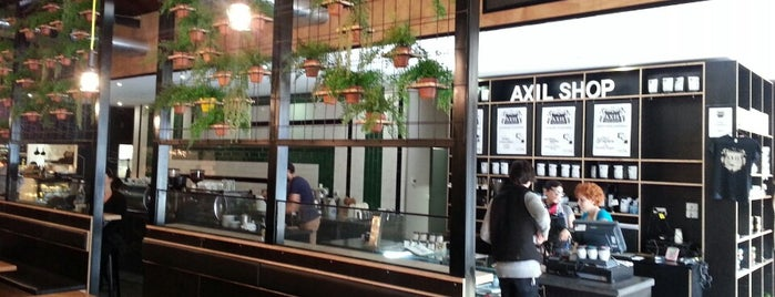 Axil Coffee Roasters is one of CoffeeGuide..