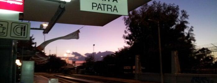 Patra Train Station is one of Posti che sono piaciuti a Michaella.