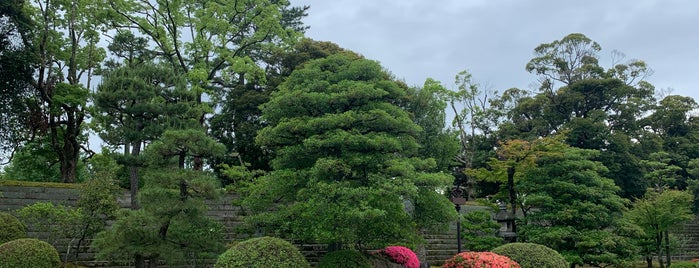 Honmaru Garden is one of 西郷どんゆかりのスポット.
