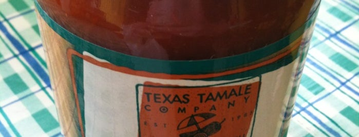 Texas Tamale Company is one of Tempat yang Disimpan C.
