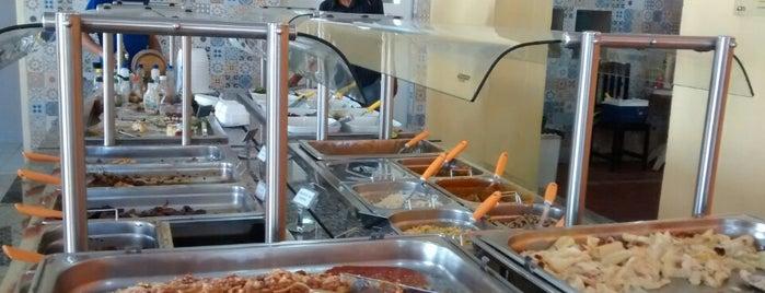 Lá em casa Restaurante Self-service is one of Eu estivem aqui.