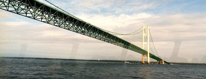 Straits of Mackinac is one of Jordan'ın Kaydettiği Mekanlar.