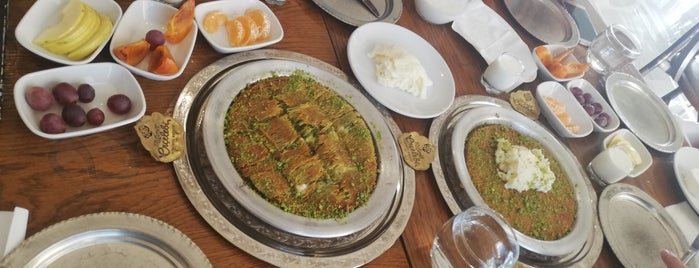 Erçelebi Kömürde Kadayıf is one of Antep-Urfa.