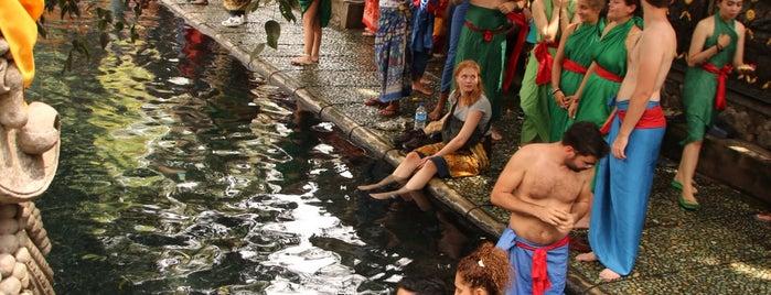 Pura Tirta Empul is one of Enjoy Bali Ubud.
