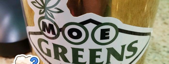 Moe Greens is one of Lieux qui ont plu à joahnna.