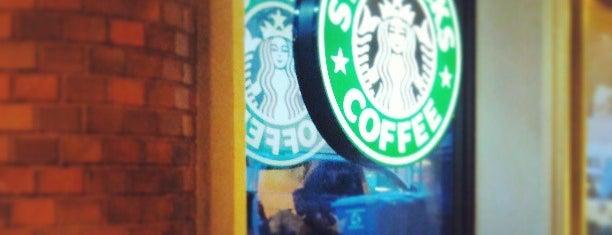 Starbucks is one of Lieux qui ont plu à Sunjay.