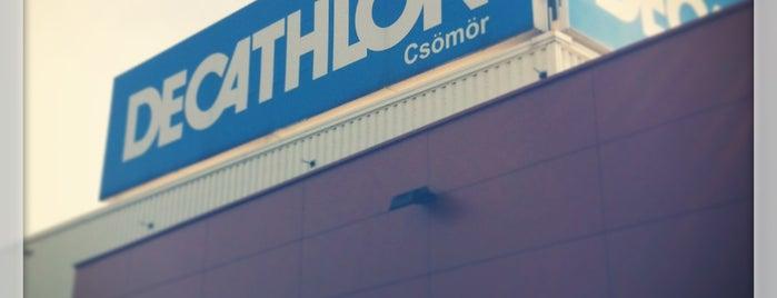 Decathlon Csömör is one of Mark : понравившиеся места.