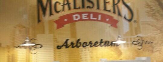 McAlister's Deli is one of Gespeicherte Orte von Chuck.