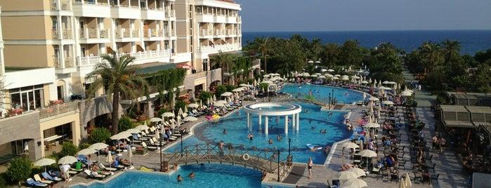 Trendy Aspendos Beach Hotel is one of antalya~ alanya~ side~belek.