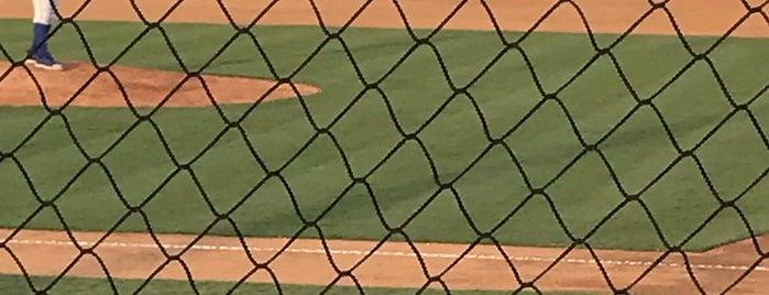 Burlington Athletic Stadium is one of Minor League Ballparks.
