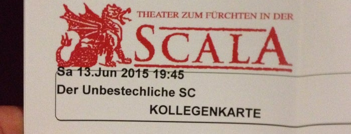 Scala - Theater Zum Fürchten is one of DO.