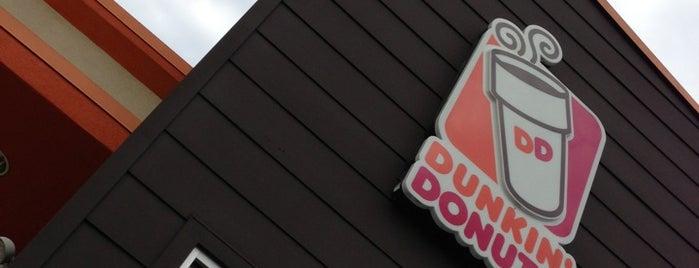 Dunkin' is one of Mallary : понравившиеся места.