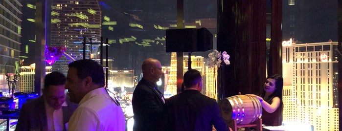 Mandarin Oriental Sky Lounge is one of Las Vegas.