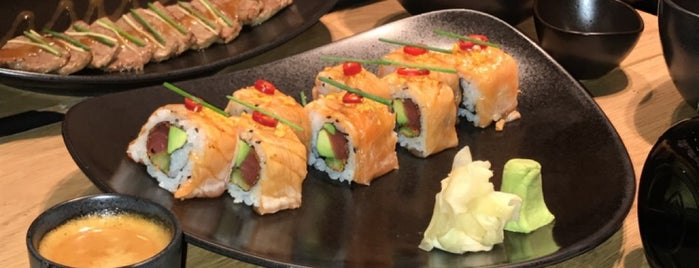 Sushi Art is one of Lugares guardados de Lina.