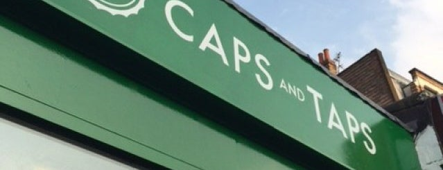Caps and Taps is one of London's Best for Beer.