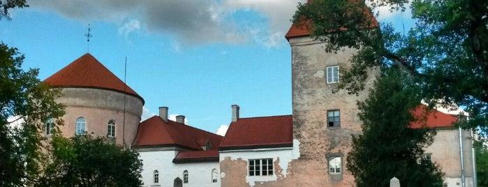Koluvere Loss is one of Замки Прибалтики.