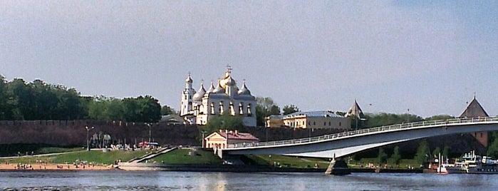 Волхов is one of Lieux qui ont plu à Darya.