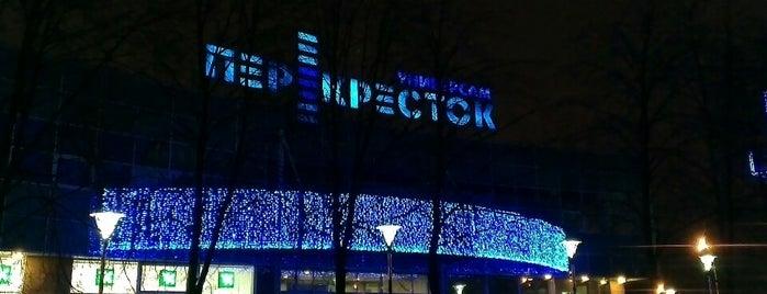 Перекресток is one of Места для онлайн-трансляции.