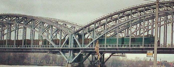 Мост Обуховской обороны is one of Hookah by'ın Beğendiği Mekanlar.
