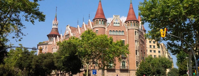 Casa Terrades (Casa de les Punxes) is one of Barcelona : Museums & Art Galleries.
