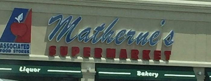 Matherne's Supermarket is one of Devin 님이 좋아한 장소.
