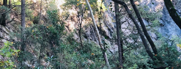 Potami Waterfalls is one of Lieux qui ont plu à Serhat.