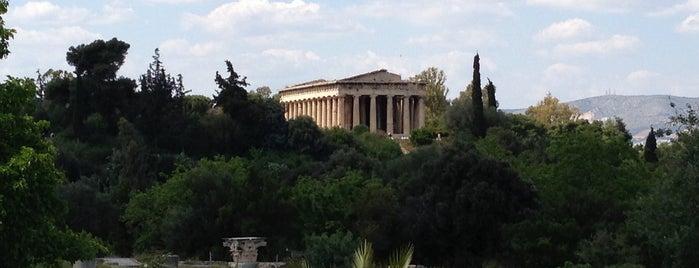 Ágora Romana is one of Sitios Internacionales.