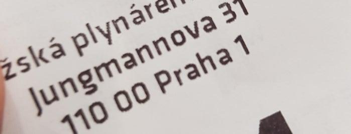 Pražská plynárenská is one of Marina'nın Beğendiği Mekanlar.