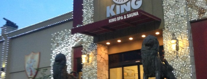 King Spa & Sauna is one of Tempat yang Disukai Bruno.