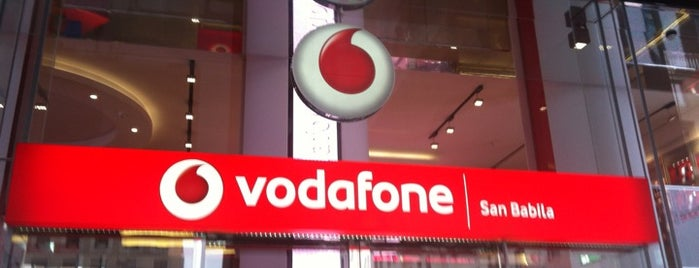 Vodafone Store is one of Glen 님이 저장한 장소.