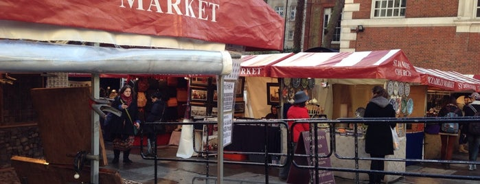 Piccadilly Market is one of London Markets & Food Stalls.