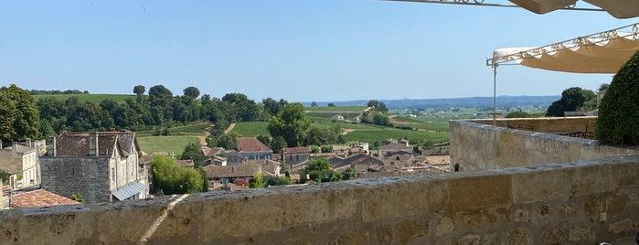 Hostellerie De Plaisance Saint Emilion is one of Bordeaux Michelin.