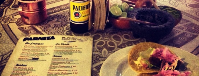 El Parnita is one of CDMX NOON CENTRO.