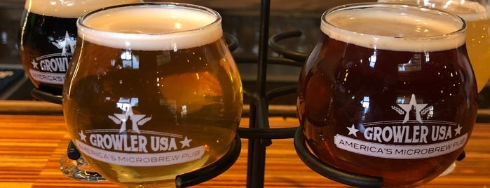 Growler USA is one of Must-visit Beer in Austin.