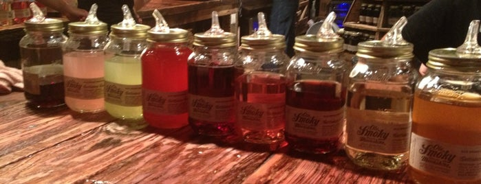 Ole Smoky Moonshine Distillery is one of Mighty Fine Moonshine.