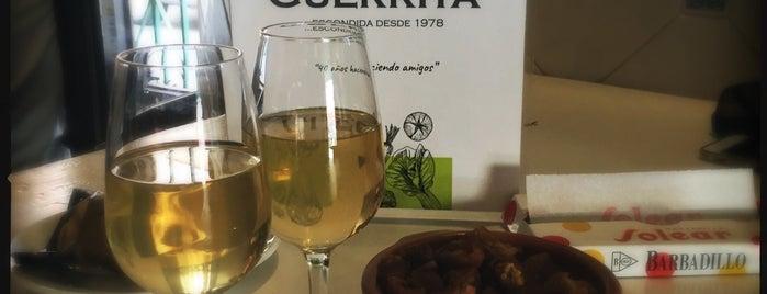 "Taberna ""Der"" Guerrita is one of Cádiz."