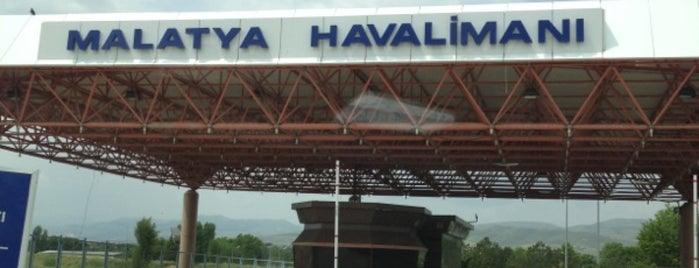 Malatya Erhaç Havalimanı (MLX) is one of HAVALİMANLARI /  AİRPORTS  All The World.