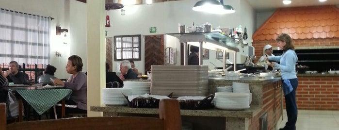 Lamparina Bar e Restaurante is one of Lugares pra comer no Portão / Água Verde.
